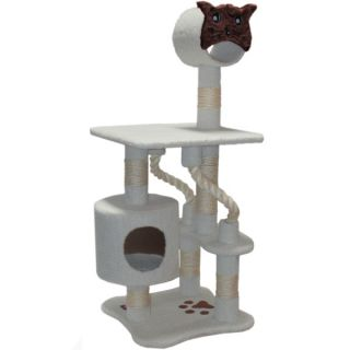 "The Majestic Pet 49"" Bungalow Cat Tree   Furniture & Towers   Furniture & Scratchers"