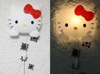 neu Wandlampe Wandleuchte Lampe Leuchte Hello Kitty wall lamp
