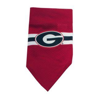 Georgia Bulldogs Official Dog Collar Bandana    Bandanas   NCAA