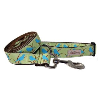Lola & Foxy Nylon Dog Leashes   Blue Bird   Leashes Nylon   Collars, Harnesses & Leashes