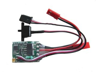 RC ESC Brushed Car Motor Speed Controller 20A For 1/16 1/18 Car