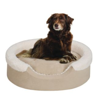 Soft Touch Cuff Oval Cuddler Dog Bed   Beds   Dog