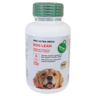 GNC® PETS Ultra Mega Dog Lean Premium Formula Chewable Tablets for Dogs   Sale   Dog