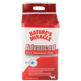 Nature's Miracle Advanced Ultra Absorbent Pads   House Training   Dog