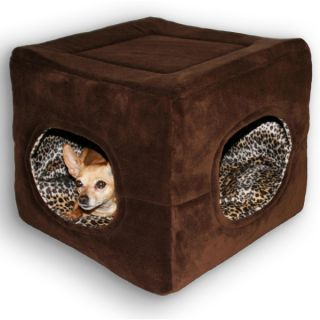 Hip Doggie Double Door Safe House Bed Condo for Dogs   Dog   Boutique