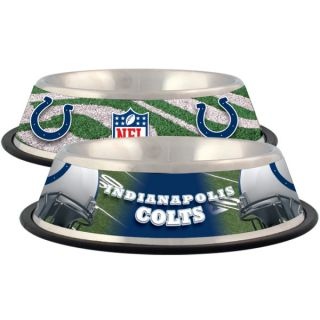 Indianapolis Colts Stainless Steel Pet Bowl   Team Shop   Dog