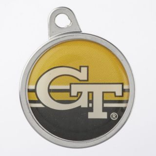 TagWorks Georgia Tech Yellow Jackets Personalized Pet ID Tag   Dog   Boutique