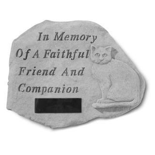 In MemoryPersonalized Cat Memorial Stone   Pet Memorial   Cat