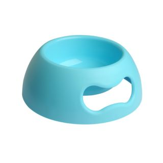 Pet Ego Pappy Bowl for Dogs   Light Blue