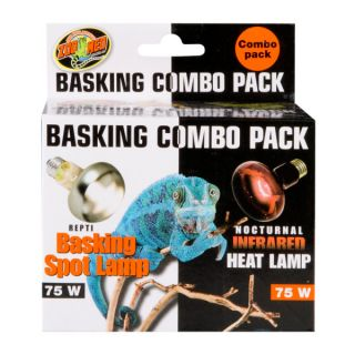 Zoo Med Basking Combo Pack   Heating   Reptile