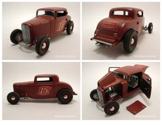 Ford Hot Rod 3 Window Coupe 1932, The Rodder´s Journal, Modellauto 1