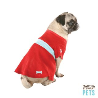 Martha Stewart Pets™ Red Thermal Dress   Martha Stewart Pets   Dog