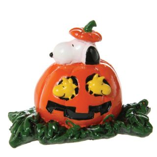 Top Fin® Peanuts Snoopy & Woodstock Aquarium Ornament   Decorations   Fish