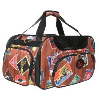Bark N Bag Old World Traveler Wheeled Pet Carrier