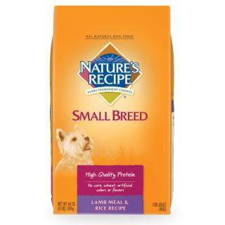 NATURE'S RECIPE� Small Breed Natural Lamb & Rice Recipe Dog Food   Dog
