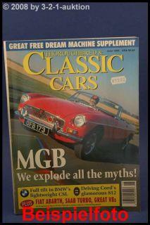 Classic Cars 6/95 MGB Fiat 850 TC X1/9 BMW 3.0 CSL