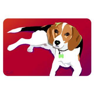 Bungalow Printed Beagle Pet Mat   Dog   Boutique