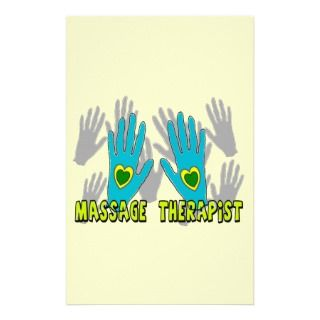 Massage Therapist Gifts Personalized Stationery