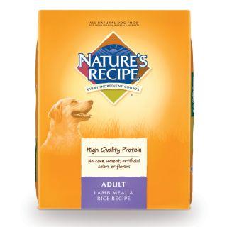 Nature's Recipe Adult Lamb Meal & Rice Dog Food   Food   Dog