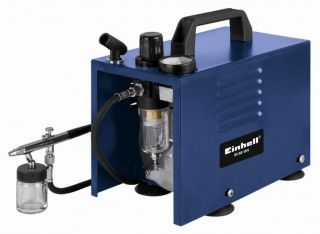 Einhell BT AB 19/4 Kit Air Brush Kompressor Set
