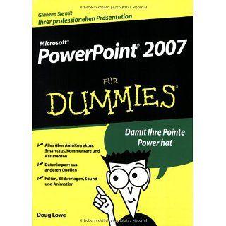 PowerPoint 2007 für Dummies Doug Lowe, Marion Thomas