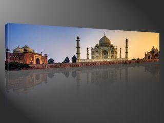 TAJ MAHAL 120x30cm RELIGION FOTO KUNST BILDER #e2258