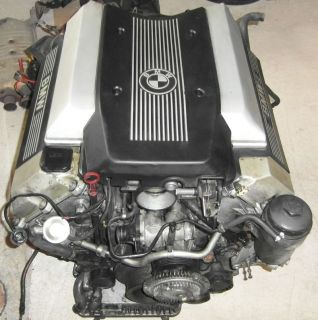 BMW E34 E32 530i 730i V8 Motor Inkl Motorkabelbaum