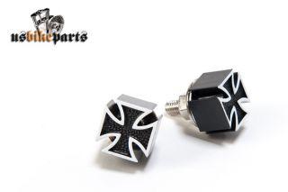 Kennzeichen Schrauben Malteser Eisernes Kreuz Harley