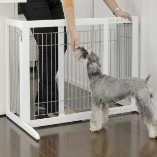 Richell USA Freestanding Tall Pet Gate   Gates   Gates & Doors