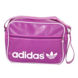 adidas AC Airline Bag Tasche Umhängetasche X25410 lila