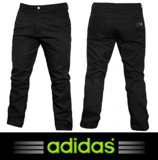 Adidas SF Chino Pant Herren Business Hose Freizeit schwarz Men Jeans
