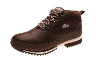 Lacoste Herrenschuhe Upton BM SPM Dark Brown