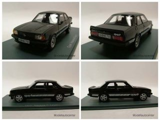 Opel Ascona B Sport 1980 schwarz, Modellauto 143 / Neo Scale Models