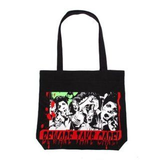 Hell Bunny Shopping Bag BEWARE BAG black Schuhe