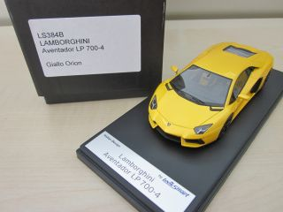 Lamborghini Aventador LP700 4 Looksmart 143 gelb