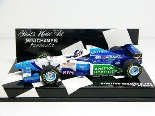 Minichamps 143 Benetton Renault B196 Gerhard Berger   Mint