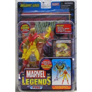 Marvel Legends 2006   Serie 13   ONSLAUGHT SERIES   PYRO   incl