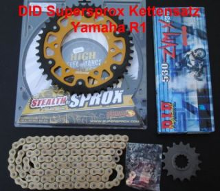 DID Supersprox Kettensatz Yamaha R1, RN04, 16 43 114