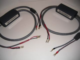 MIT MH 750 Plus Series 3 Vintage Reference Speaker Cables 8ft Pair