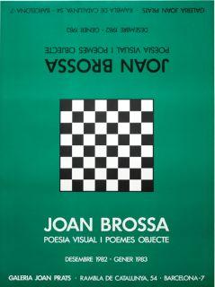 Brossa, Joan   Galeria Joan Prats 1982/83   Farblithogr