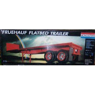 MONOGRAM 77400 Fruehauf Flatbed Trailer, 116, Skill 3 , 177 Teile