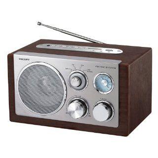 Scott RX 19 Radio Tuner braun Elektronik
