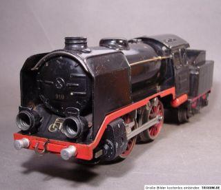 MÄRKLIN R 66/12910 Dampflok mit Tender 20 Volt 1938 55