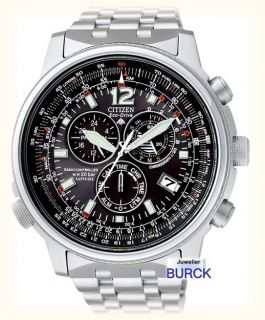 CITIZEN Promaster Eco Drive Funkuhr AS4020 52E Funk Uhr