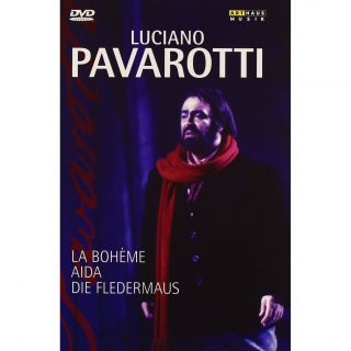 Luciano Pavarotti (5 DVD BOX mit AIDA/LA BOHEME/FLEDERMAUS ) NEU/OVP