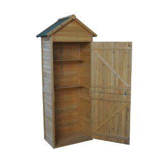 Gerätehaus Geräteschuppen Geräteschrank Holz Garten