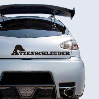 Autoaufkleber Atzenschleuder Styling Sticker f. Atzen