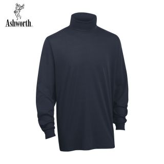 Herren Shirt 2013 Ashworth Winter Golf Rollkragen Langärmelig