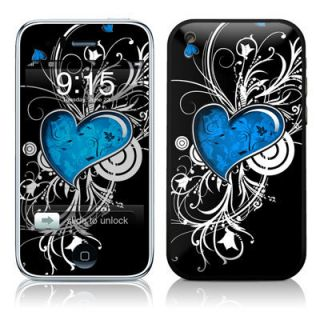 iPhone 3G 3Gs Skin Handy Sticker Design Aufkleber + Wallpaper   My