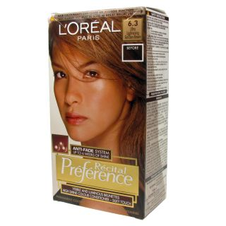 Oreal Recital Preference Permanent Hair Color   63 Golden Brown